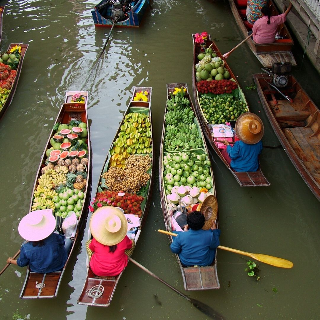 de ruta por tailandia