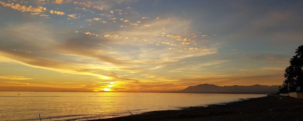 puestas de sol mas romanticas en malaga