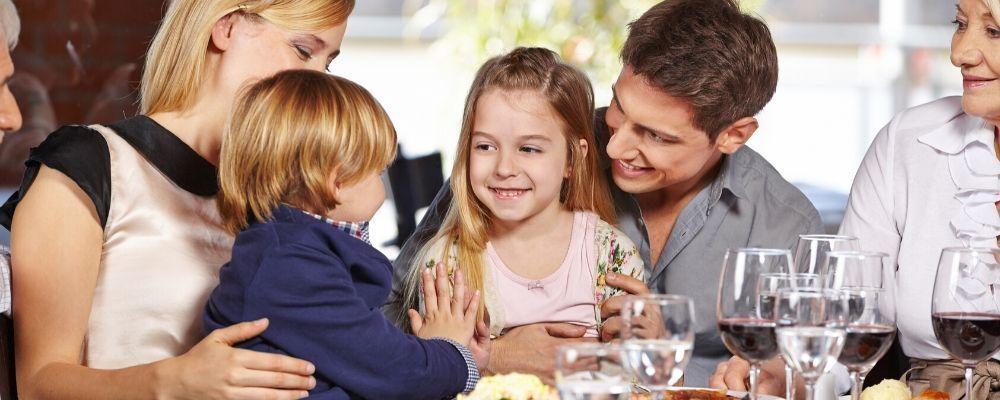 comer con niños en malaga