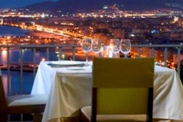 cena romantica en malaga
